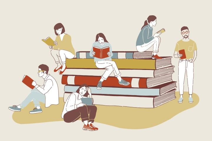 Февральская программа читательского клуба «Александрия»
