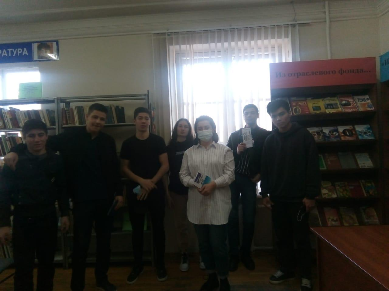 Встреча с учащимися юридического факультета Гуманитарно-технического колледжа г.о. Нальчик