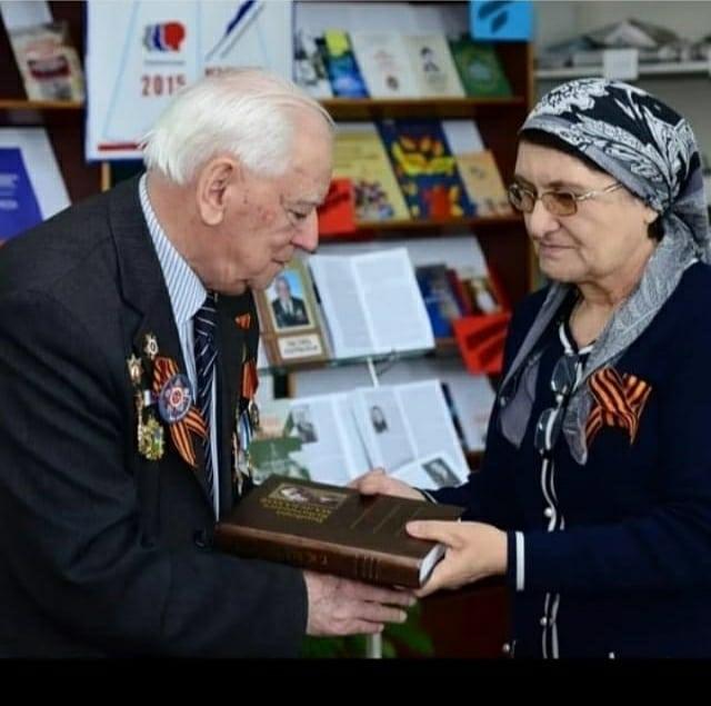 Фото с ветеранами ВОВ