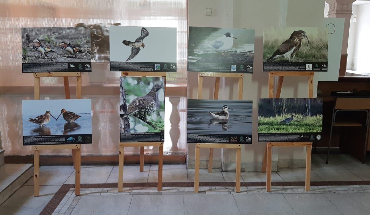 Фото экспозиция к 45–летию Кабардино–Балкарского высокогорного государственного заповедника.