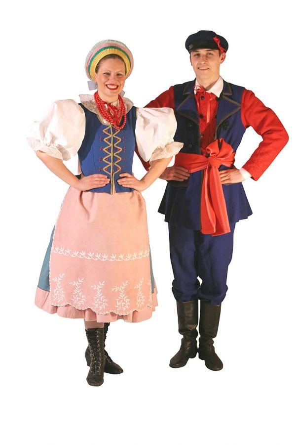 Польские национальные костюмы картинки
